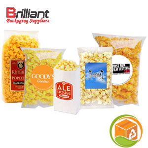 Clear Popcorn Bags