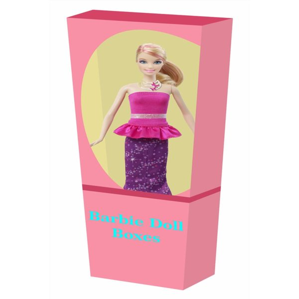 adult barbie box