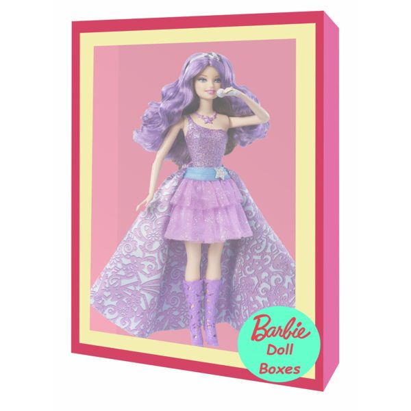 barbie gift box