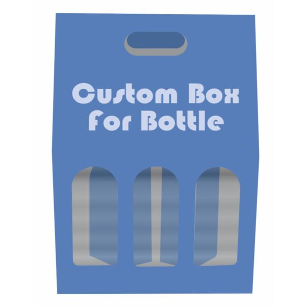 boxes with dividers for bottles