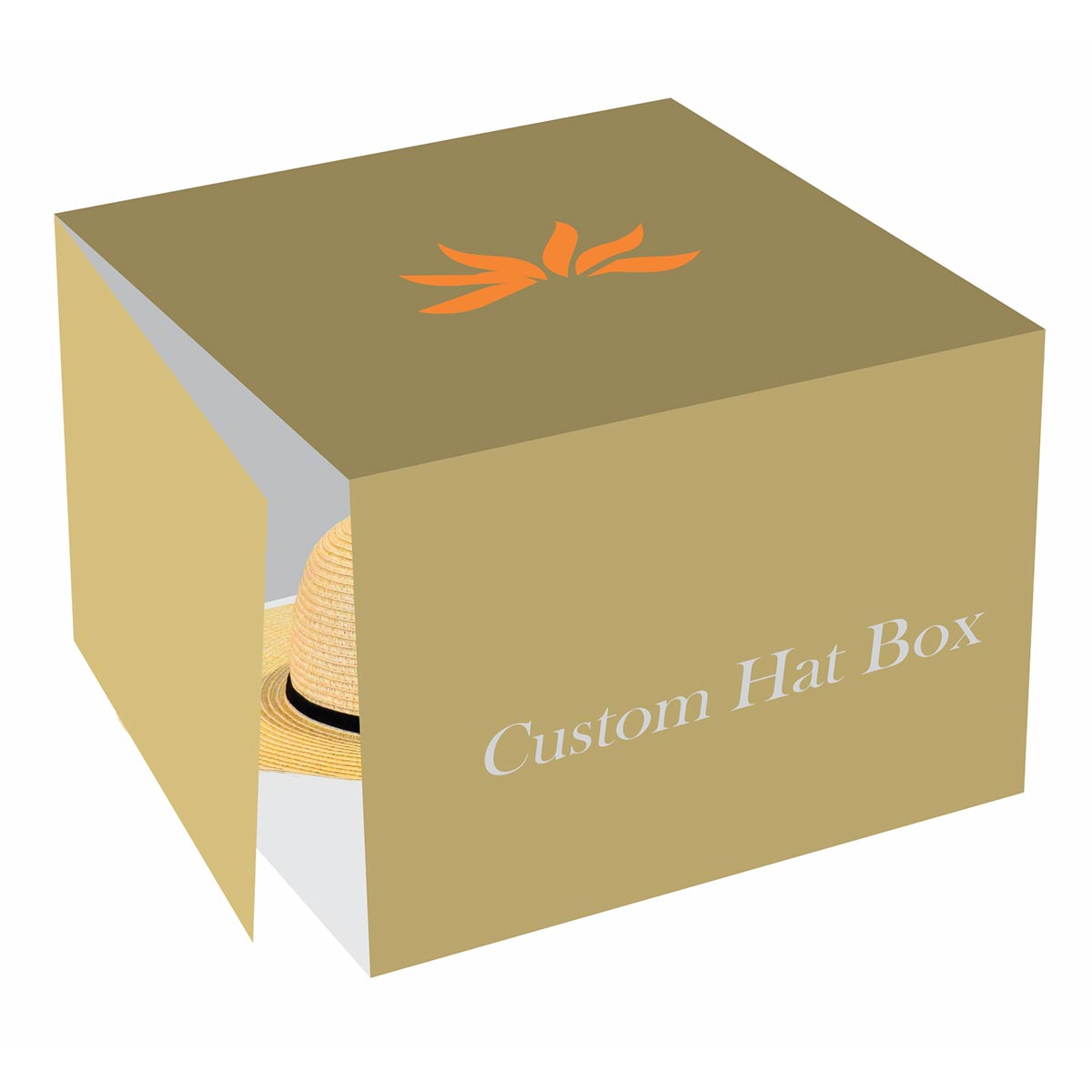 personalised hat box