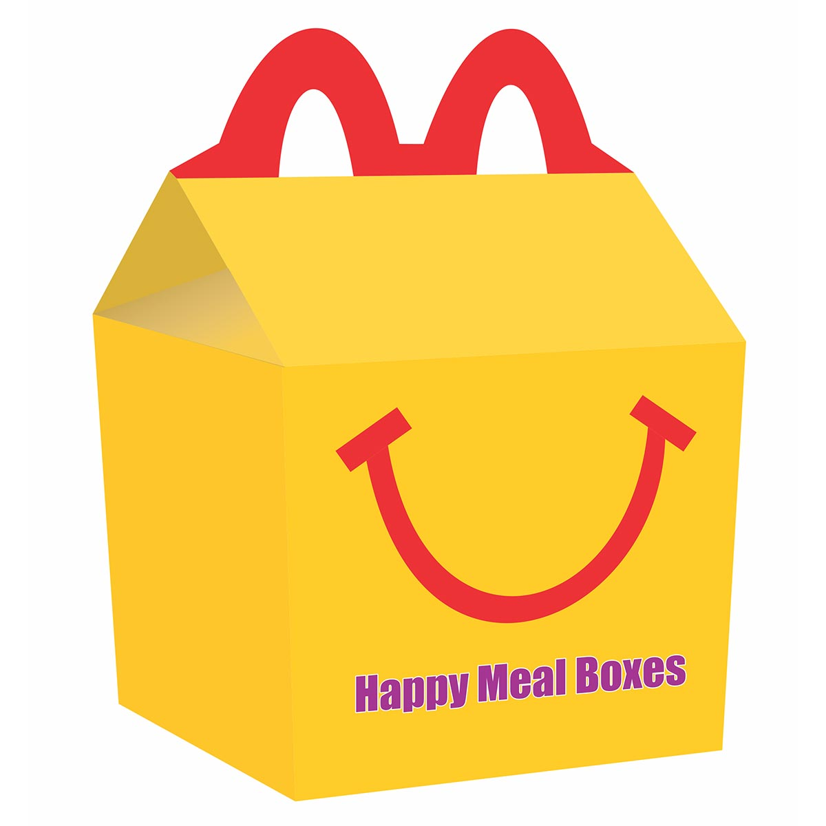 first happy meal box