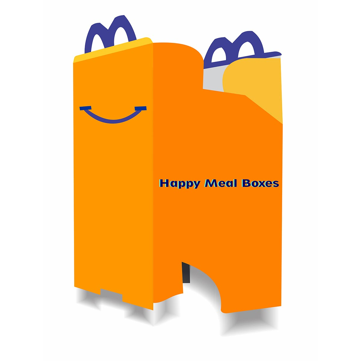 custom happy meal box