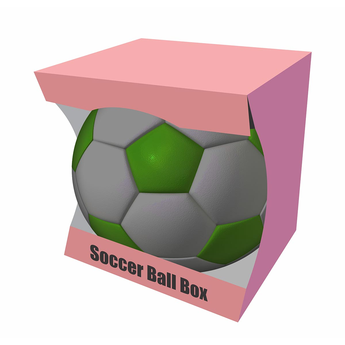 custom soccer ball packaging