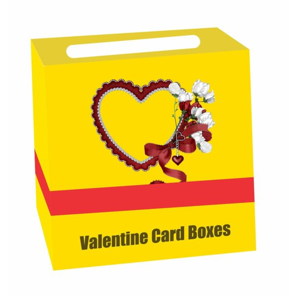 box of valentines day cards