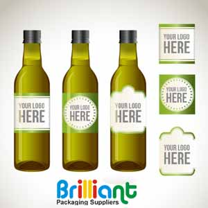 Custom Olive Oil Bottle Labels
