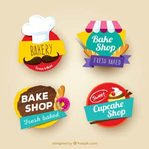 Bakery Stickers
