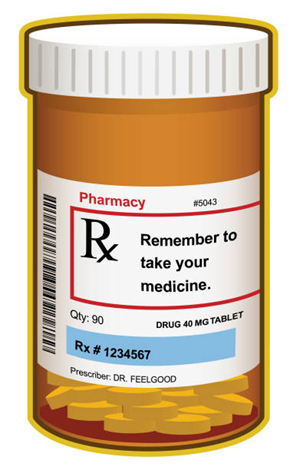 Medicine Bottle Label