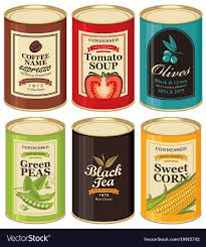 Tin Labels